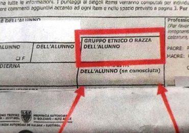 """Asl Bolzano, che """"razza"""" di questionario?!"""