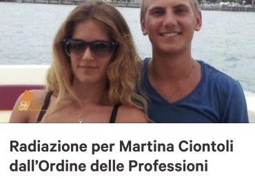 Parte la raccolta firme per richiedere la Radiazione di Martina Ciontoli dall'Ordine delle Professioni Infermieristiche di Roma