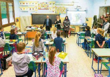 Baone (Padova), alunni di terza elementare diventano Alfieri della Repubblica