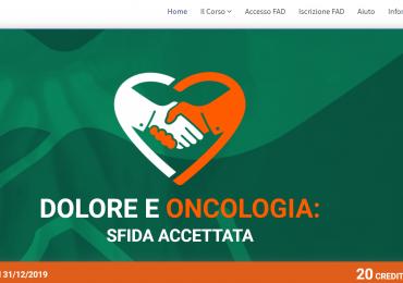 """Corso FAD ECM gratuito """"dolore e oncologia sfida accettata"""" (20 crediti)"""