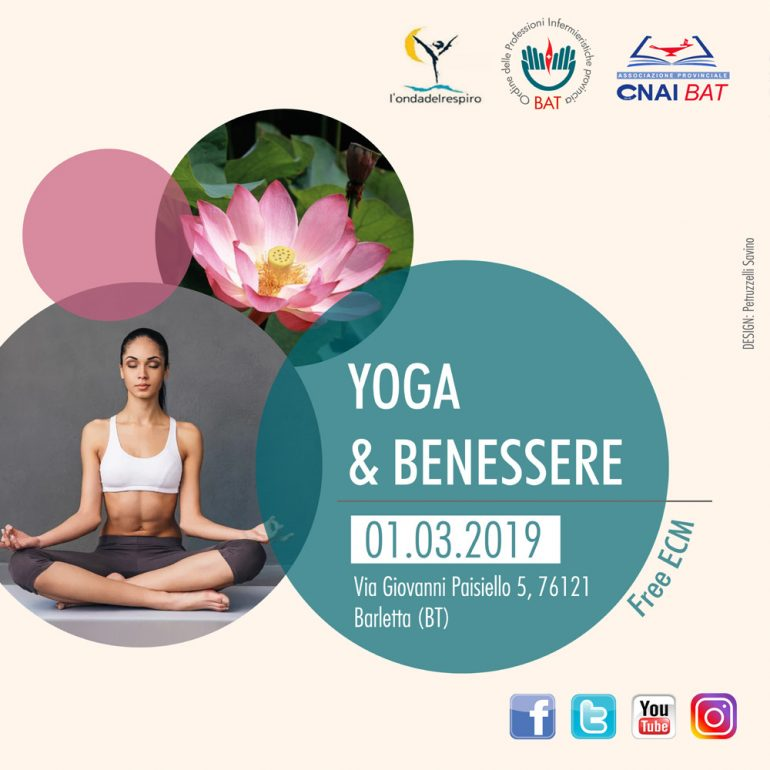 Corso OPI BAT e CNAI BAT: Yoga&Benessere