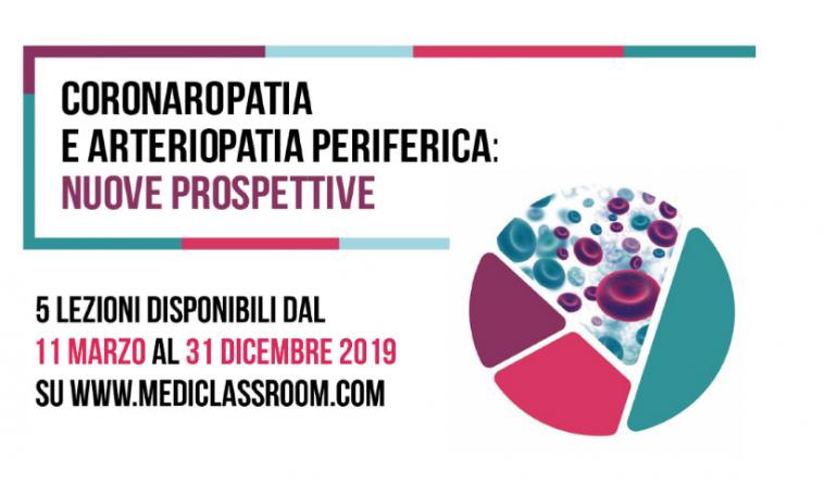 """Ecm Fad gratuito """"Coronaropatia e arteriopatia periferica: nuove prospettive"""" per infermieri e medici"""