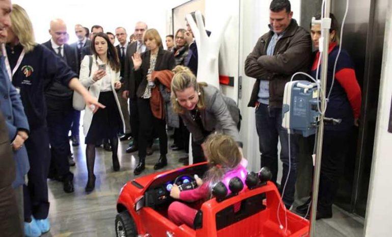 Palermo, visita a sorpresa di Giulia Grillo in tre ospedali