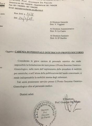 Caos Sanità in Campania: infermieri costretti a fare da tappabuchi perchè mancano le ostetriche