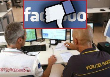 Facebook e Whatsapp smettono di funzionare, centinaia di telefonate al Numero Unico dell'Emergenza 112
