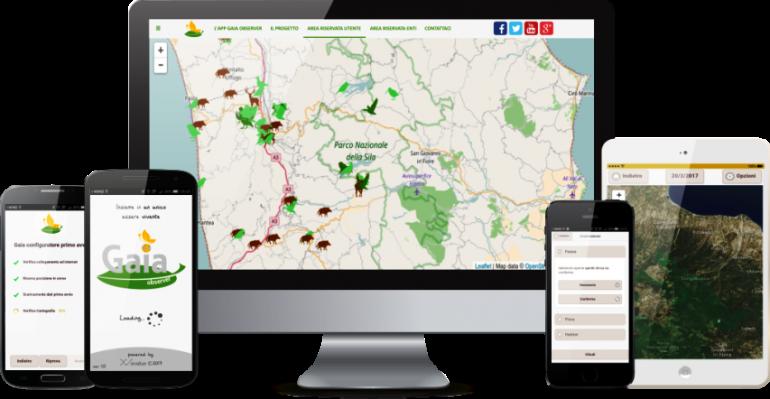 Gaia Observer: Legambiente lancia l'app per difendere la natura