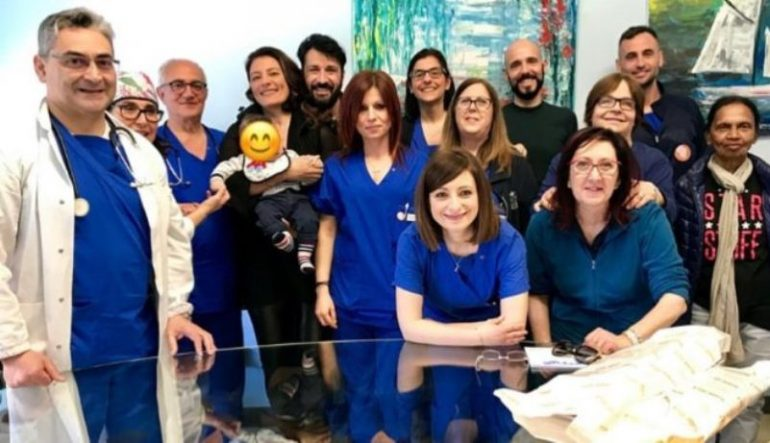 Lecce, Lele Spedicato ringrazia lo staff sanitario che gli ha salvato la vita