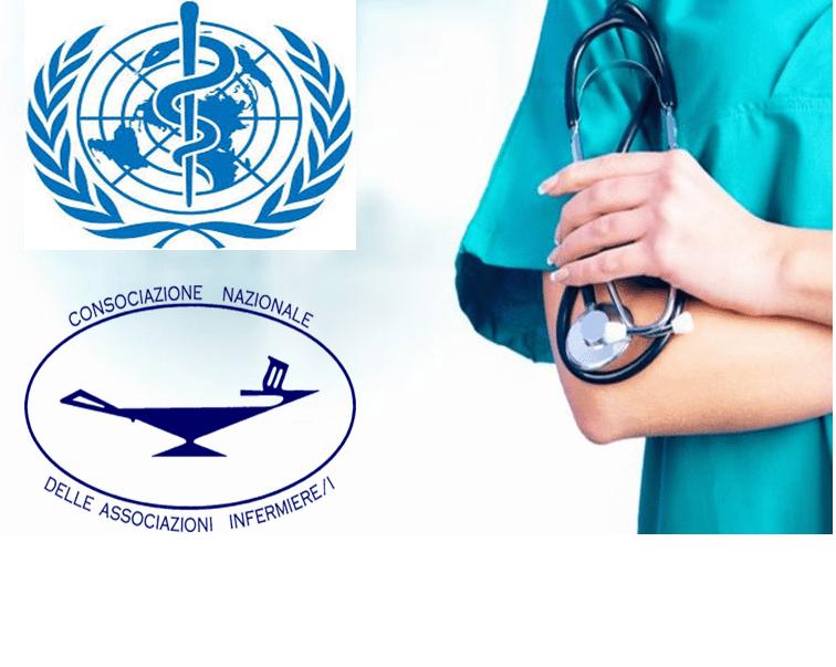 """Progetto """"Nursing Now"""" 2018/2020 CNAI-WHO-ICN: migliorare qualità ed immagine Infermieri"""