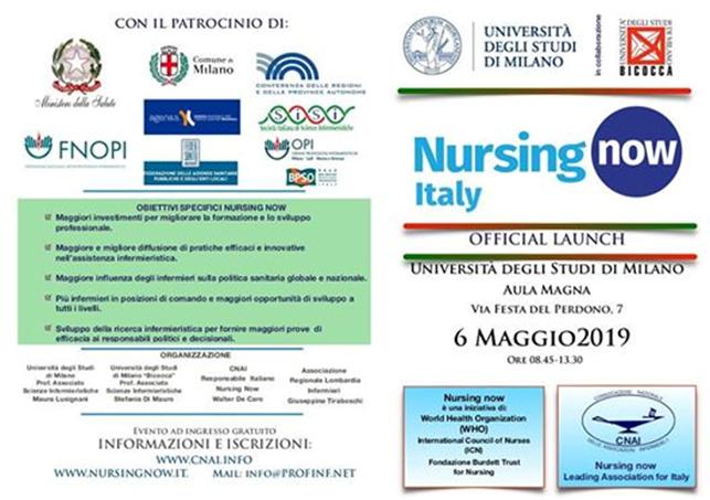 CNAI e Nursing now