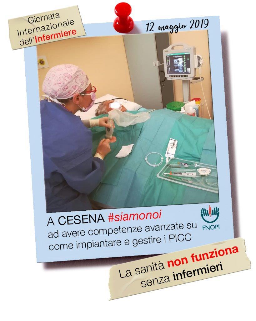 """""""La sanità non funziona senza infermieri"""" è lo slogan 1"""