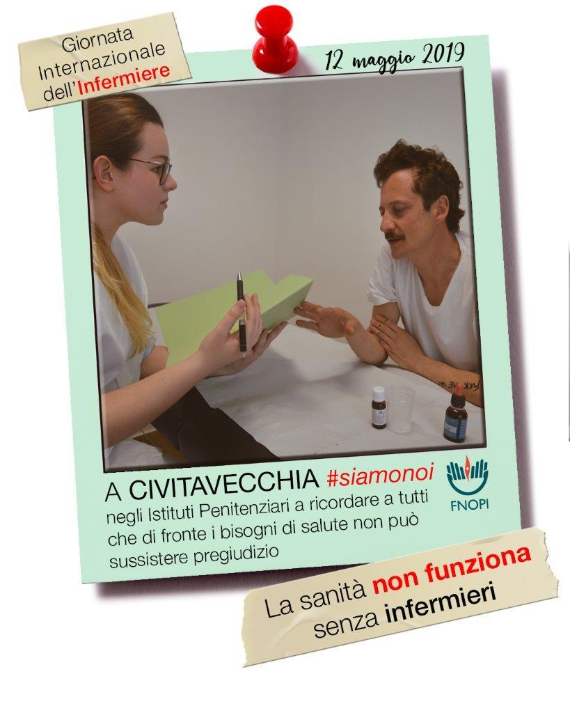 """""""La sanità non funziona senza infermieri"""" è lo slogan 2"""