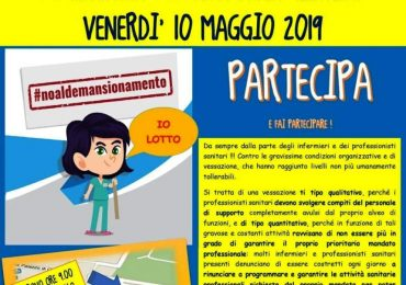 No al demansionamento: parte la mobilitazione Nursing Up