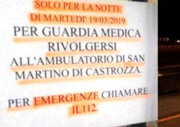 Primiero (Trento), guardia medica assente: scatta la denuncia dei carabinieri