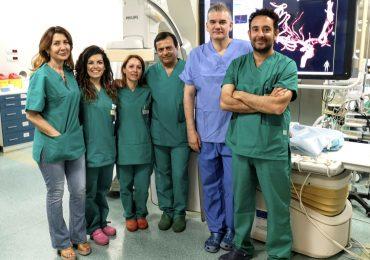 Catania: me bimbo ragusano con malformazione artero-venosa