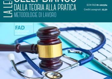 """Corso Fad Ecm gratuito """"La legge Gelli-Bianco: dalla teoria alla pratica. Metodologie di lavoro"""""""