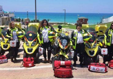 Israele, raggiungere un ferito in 4 minuti: con la motomedica si può