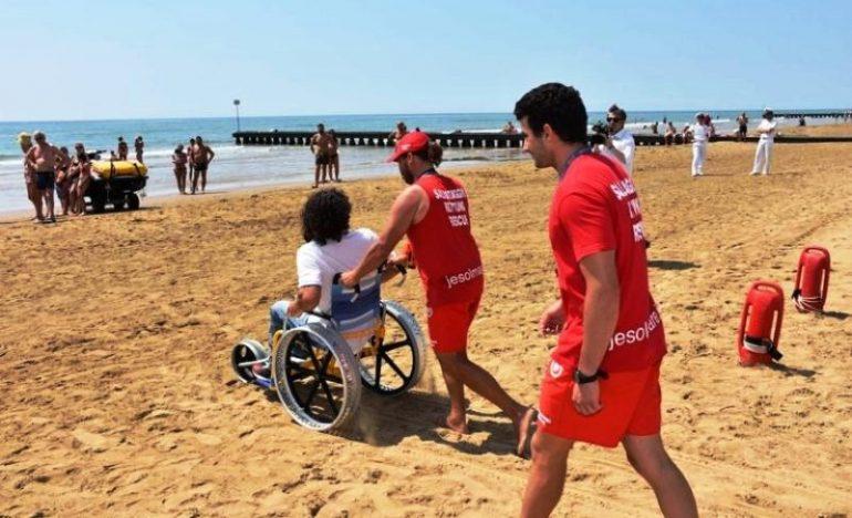 """Jesolo, disabili in barca gratis con l'iniziativa """"Un mare per tutti"""""""