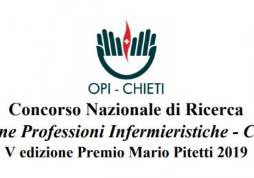 OPI Chieti lancia un Concorso Nazionale di ricerca infermieristica