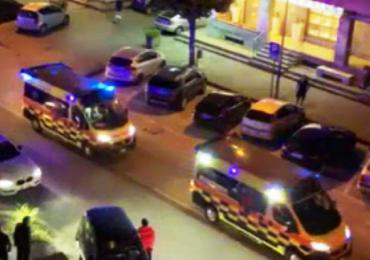 Paestum, carosello di ambulanze per festeggiare l'elezione del sindaco