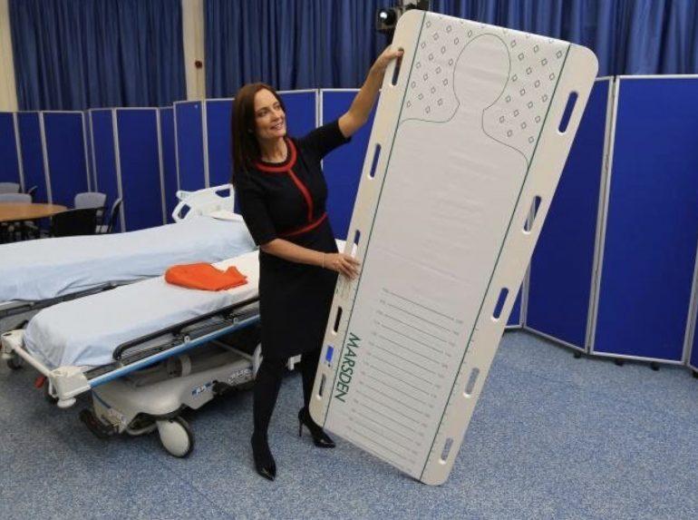 Patient Transfer Scale: un'infermiera inventa il roller in grado di salvare una vita