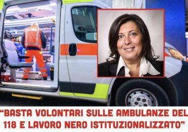 """""""Basta volontari sulle ambulanze del 118 e lavoro nero istituzionalizzato"""""""