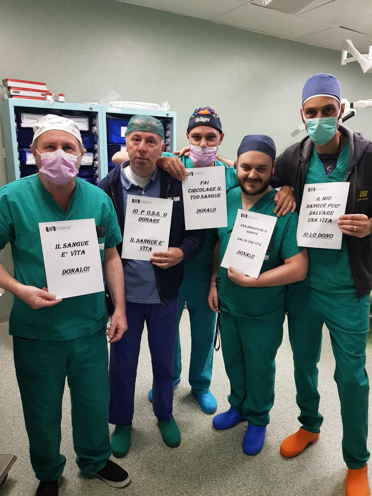 """Napoli: parte al """"Pascale"""" la campagna di sensibilizzazione per la donazione di sangue 2"""