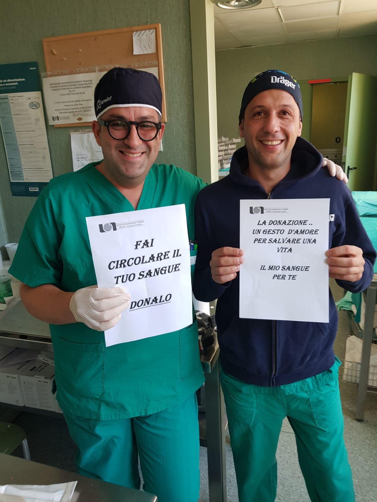 """Napoli: parte al """"Pascale"""" la campagna di sensibilizzazione per la donazione di sangue 4"""