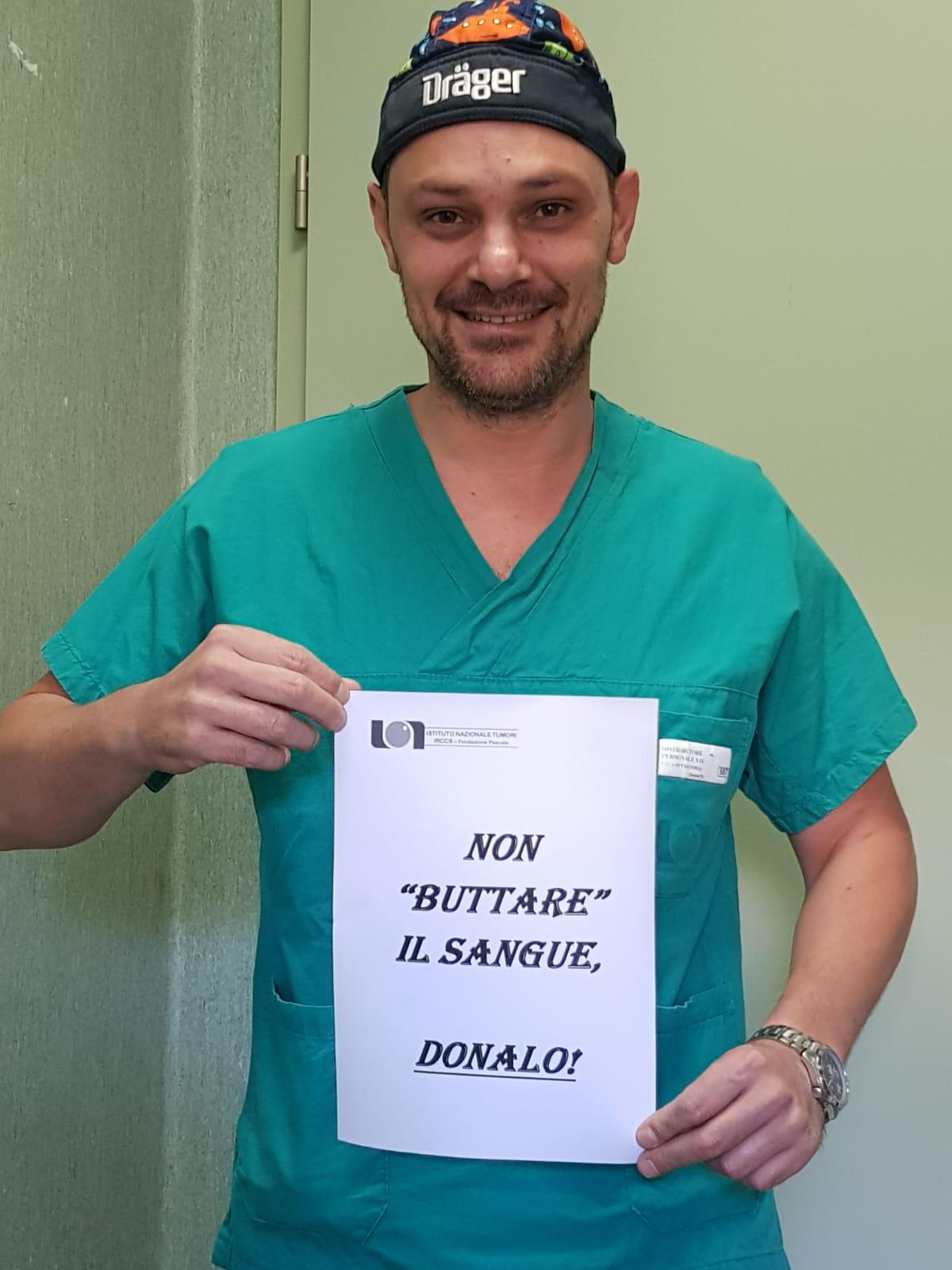 """Napoli: parte al """"Pascale"""" la campagna di sensibilizzazione per la donazione di sangue 5"""