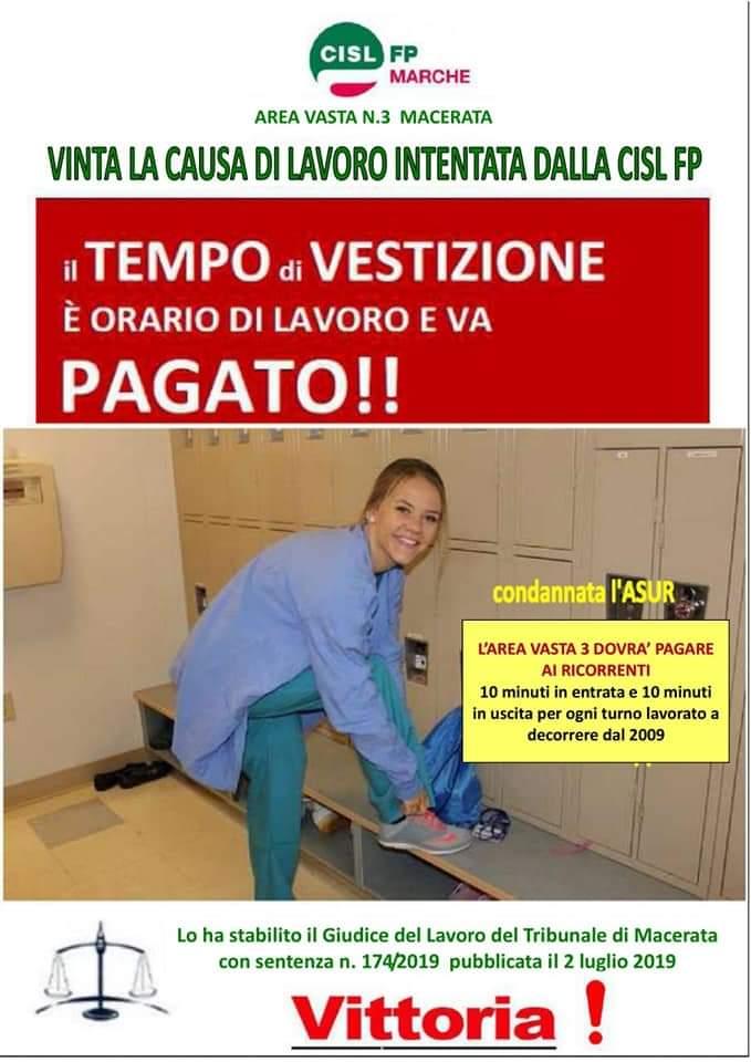 """Pioggia di sentenze in tutta Italia """"Il tempo per indossare la divisa va retribuito!"""""""