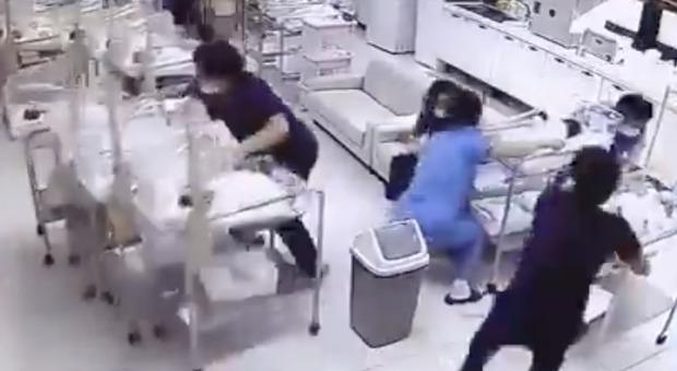 Terremoto di magnitudo 6.2 in Giappone: le infermiere non cercano riparo per salvare i neonati