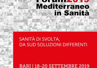 Forum Mediterraneo in sanità: presenti gli Opi di Bari, Bat e Brindisi