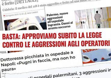 """Grillo """"approvare la legge contro le aggressioni agli operatori sanitari"""""""