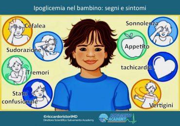 L'ipoglicemia nel bambino: cause, sintomi e trattamento