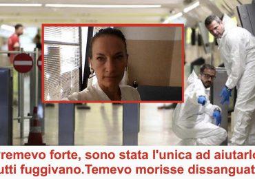 Vigilante accoltellato alla gola nella Metro di Roma: infermiera fuori servizio gli salva la vita