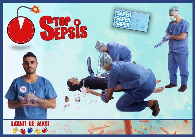 Daniele infermiere a Verona presenta il progetto fotografico per il World Sepsis Day