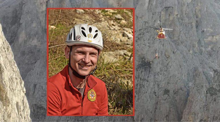 Infermiere del soccorso alpino muore precipitando dal Sass Maor