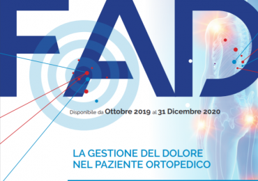 """Corso Ecm (20 crediti) Fad Gratuito """"La gestione del dolore nel paziente ortopedico"""""""