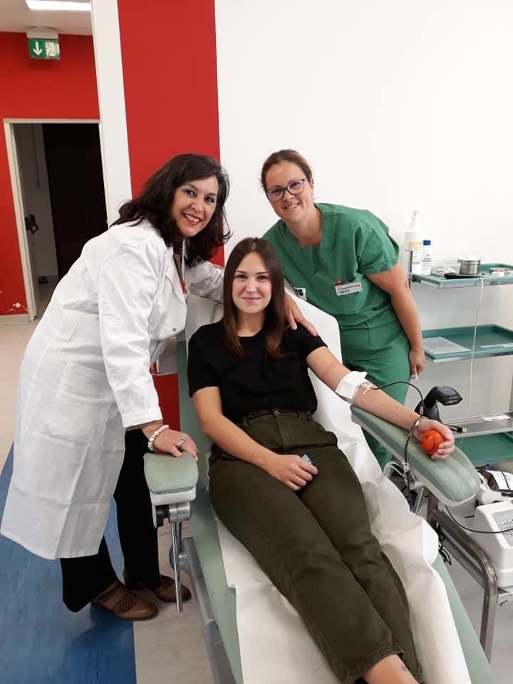 Oltre 200 studenti di Infermieristica donano il proprio sangue a Latina per sensibilizzare la popolazione