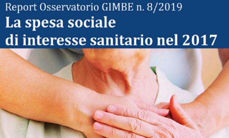 Report Gimbe: non può esistere assistenza sanitaria senza assistenza sociale