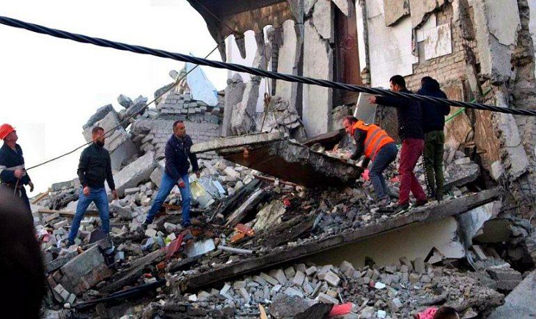 Terremoto in Albania, partono i soccorsi dall'Italia
