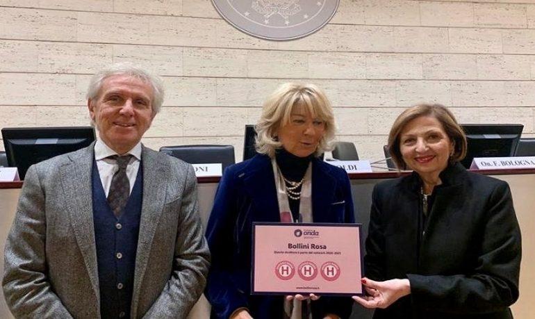 Assegnati tre Bollini Rosa all'Azienda ospedaliera Santa Maria di Terni