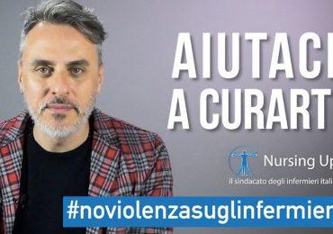 Aggressioni agli operatori sanitari: Massimiliano Vado testimonial della campagna Nursing Up