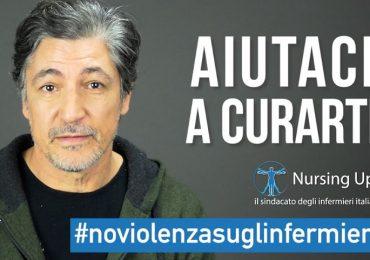 Campagna Nursing Up: anche Francesco Foti contro le aggressioni al personale sanitario.