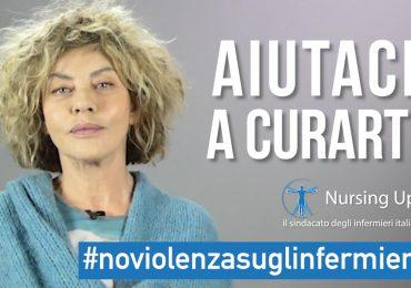 Eva Grimaldi dalla parte degli infermieri: video contro le aggressioni, la campagna Nursing Up #NoViolenzasuglinfermieri
