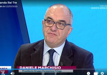 L'infermiere Daniele Marchisio spiega su Rai3 l'importanza dei nuovi codici colore nei Pronto Soccorso