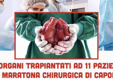 Niguarda: grazie ad una maratona di capodanno 30 medici e infermieri trapianto 15 organi ad 11 pazienti