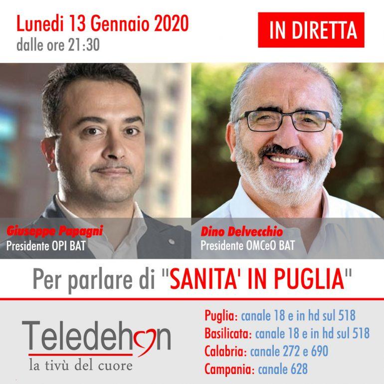 Opi Bat On Air : Sanità in Puglia 2020