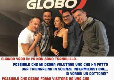 """Radio Globo:""""In PS non mi sento sicuro, non vorrei mai essere visitato da uno che fa le pulizie, voglio un dottore!"""" 1"""