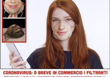 Coronavirus: a breve in commercio le mascherine con il proprio volto per il riconoscimento facciale dello smartphone