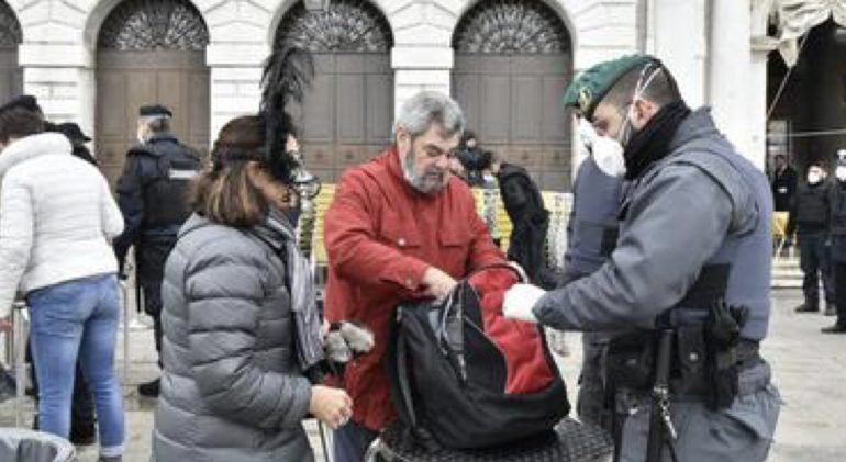 Coronavirus: 2 pazienti positivi a Venezia. Carnevale a rischio sospensione